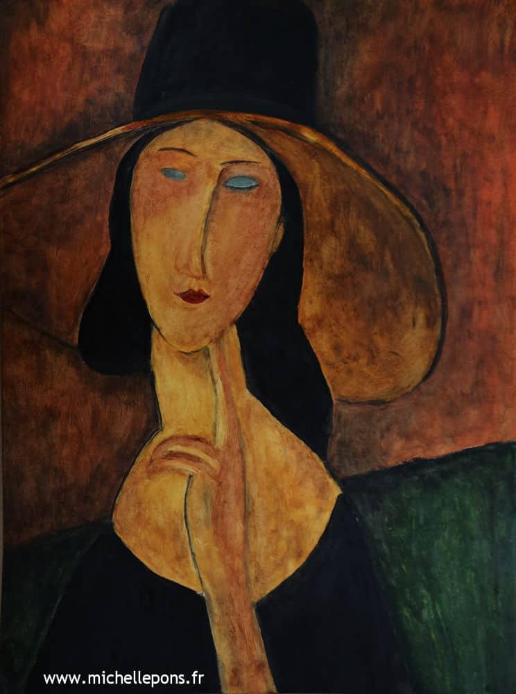 Jeanne Hébuterne au Grand Chapeau