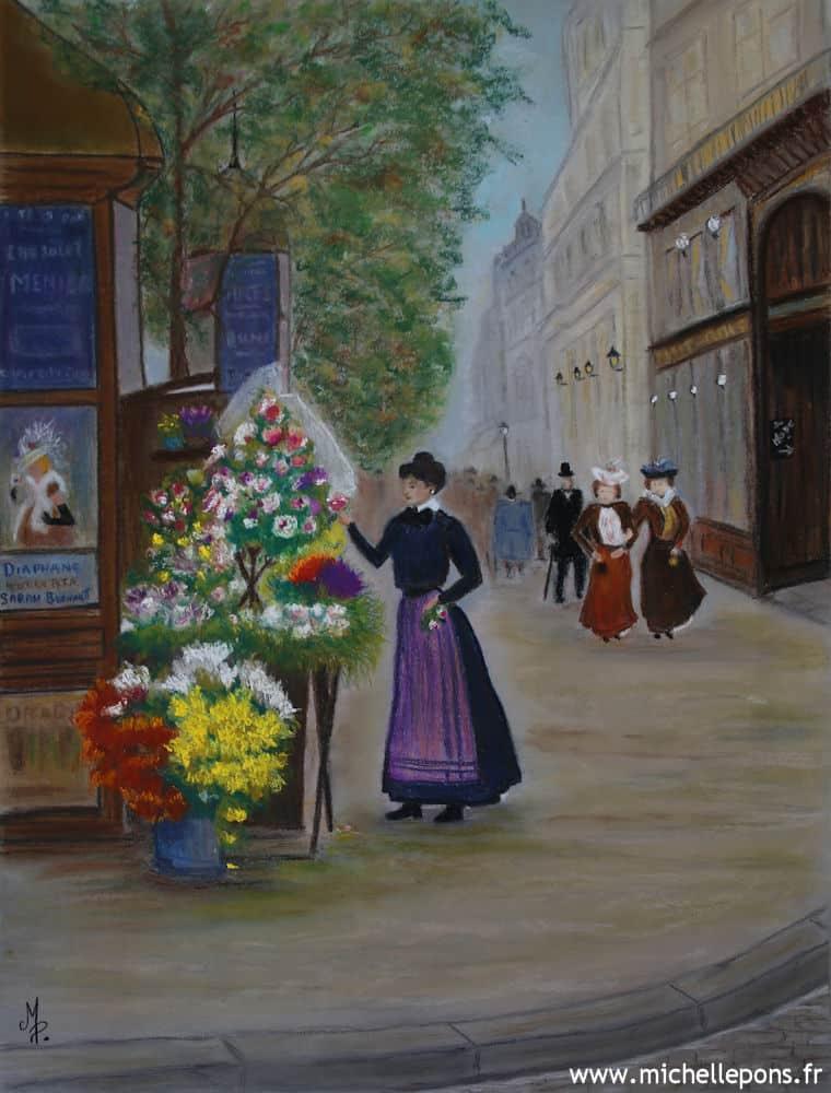 Paris 1900 – La Fleuriste