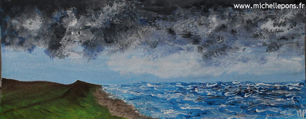 Ciel d'Orage sur la Mer